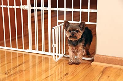 Carlson Tuffy Metal Expandable Pet Gate
