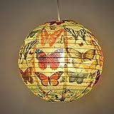 Blue Q - Design Papierlampe Lampenschirm Hängelampe - History Of