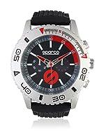 Sparco Reloj Man Jackie Negro / Rojo 42 mm