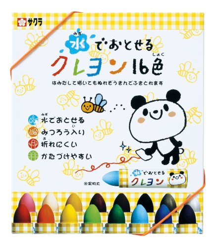 Crayons washable Sakura Color 16 water color WYL16
