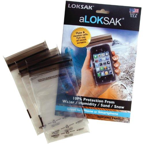LOKSAK(ロックサック) aLOKSAK防水マルチケース スマートフォン向け 3枚セット 136363