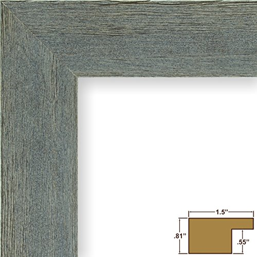 Craig Frames Barnwood Chic, Rustic Hardwood Picture Frame, Gray, 11 by 14-Inch (Matting Frame compare prices)