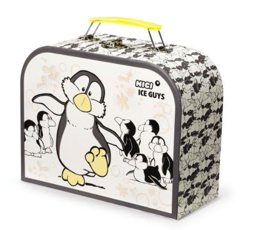 Imagen principal de Nici 33211 - Maleta de cartón duro, diseño pingüino
