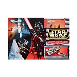 Star Wars Mirco Machines Darth Vaders Lightsaber/death Star Trench By Galoob