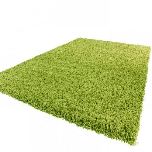 tapis-shaggy-longues-meches-en-vert-dimension60x100-cm