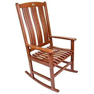 Eucalyptus Single Outdoor Rocking Chair by Jordan MFG Company