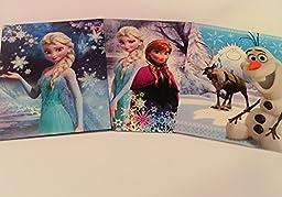Disney Frozen 2-pocket Portfolio School Folder