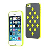 Moon Monkey Fashion Waterproof Glaring Back Cover Slim Case for Iphone 5 5s (MM396) (Yellow)