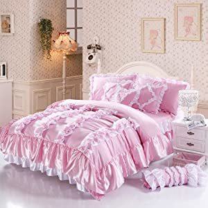 pink bedding sets king 3bJ5vNBk