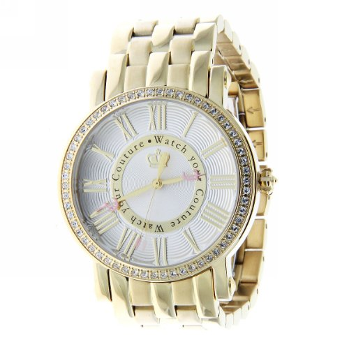 "Juicy Couture Round Women's Watch Gold Bracelet ""Your Couture"" watch 1900816"