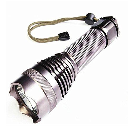 anbit torcia lampada tascabile cree-l2LED e ricaricabile con 5modalità, Super Luminosa corrente ultra-longue portata, diverse opzioni di alimentazione