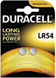 Duracell 189 LR54 LR1130 Alkalibatterie (1,5V, Blisterverpackung) 2 Stück