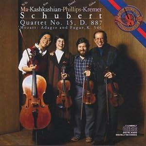 F. Schubert: Quartet No. 15,  D. 887 / W. A. Mozart, Adagio und Fuge K. 546