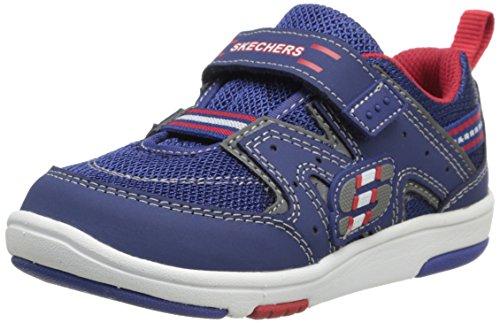 Skechers Kids 95005N Cruzer Running Shoe,Navy/Red,9 M Us Toddler