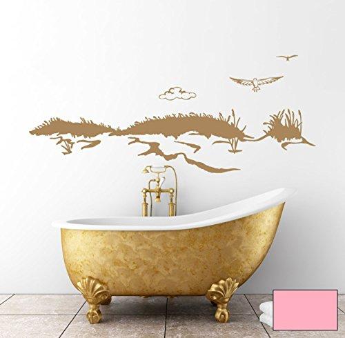 graz-design-adhesivo-decorativo-para-pared-duna-playa-mar-gaviota-maritim-m1531-rosa-s-80cm-breit-x-