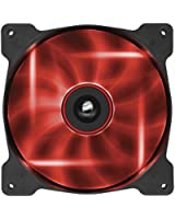 Corsair Ventilateur Grand Débit AF140 Edition Silencieuse 140mm LED Rouge- Pack simple (CO-9050017-RLED)