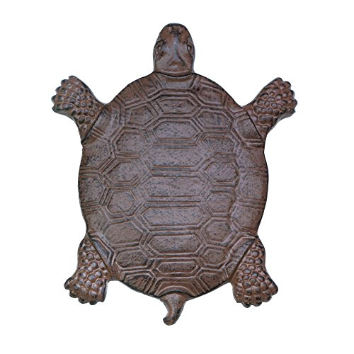 Home decor turtle stepping stone garden garden stones for Turtle decorations for home