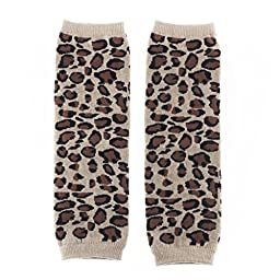 Huggalugs Baby Girl or Boy Cheetah Spot Legwarmers Infant Size
