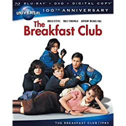 The Breakfast Club [Blu-ray + DVD + Digital Copy] (Universal's 100th Anniversary)
