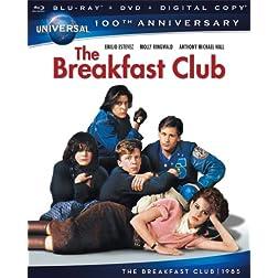 The Breakfast Club [Blu-ray + DVD + Digital Copy] (Universal's 100th Anniversary)