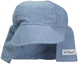 Flap Happy Flap Hat, Chambray X Large