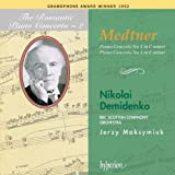 The Romantic Piano Concerto, Vol. 02 Medtner 2 & 3 Demidenko