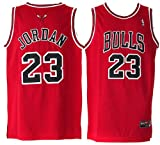 NBA Chicago Bulls RED Jersey, Michael Jordan