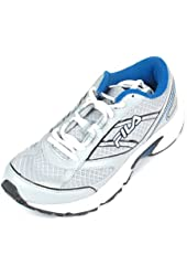 Fila Mens Flux TRX Running Shoes Sneakers 9.5 Grey/White/Blue
