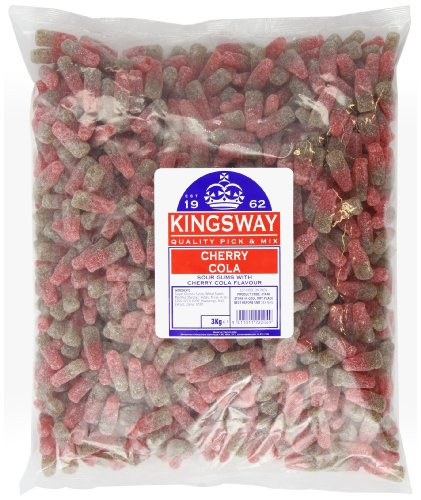 Kingsway Cherry Cola Bottles 3 Kg