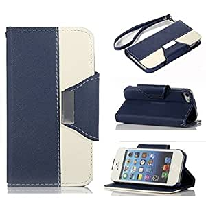 Nacycase Wallet Leather Carrying Case Cover With Credit ID Card Slots/ Money Pockets Flip leather case cover For iPhone 6 4.7 inch