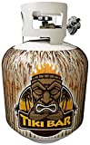 Jack-its Bamboo Tiki Bar Removable Magnetic Tank Cover