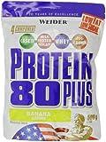 Weider Protein 80 Plus, Banane, 500 g Beutel