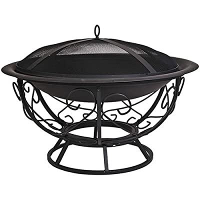 Cobraco Fb8002 Fire Bowl With Scroll Base from CobraCo