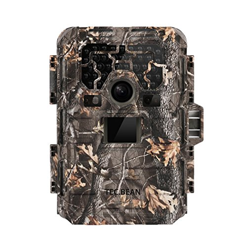 TEC.BEAN 12MP 1080P HD Game and Trail Hunting Camera No Glow Infrared Scouting Camera Night Vision Up-to 75' with 940NM IR LED's and Waterproof IP66, 36 Piece (Game Cameras Hunting compare prices)