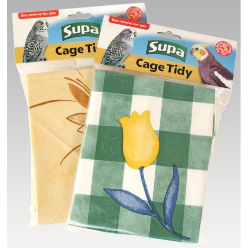 Cheap Supa Cage Tidies Bird Cage Floor Cover Standard (15396a)