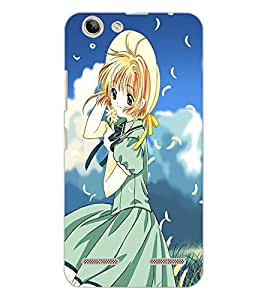 LENOVO VIBE K5 PLUS BEAUTIFUL GIRL Back Cover by PRINTSWAG