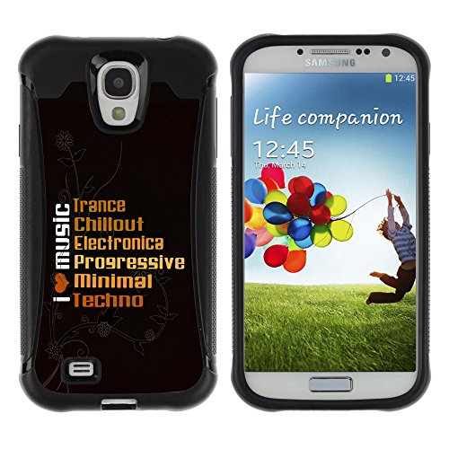 Zfresh Rugged Protective Case Cover Ux - Samsung Galaxy S4