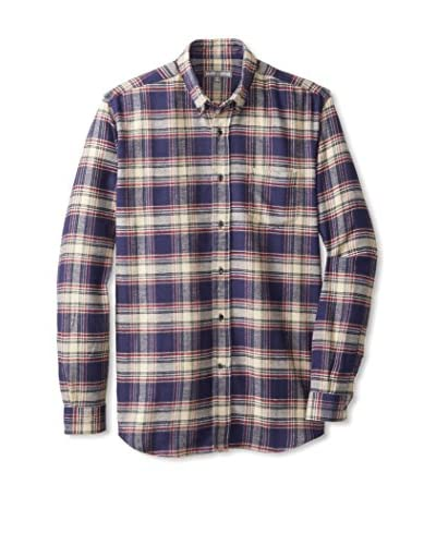 Slate & Stone Men's Calvin Long Sleeve Flannel Shirt