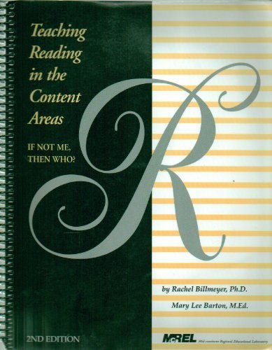 Teaching Reading in the Content Areas: If Not Me, Then...