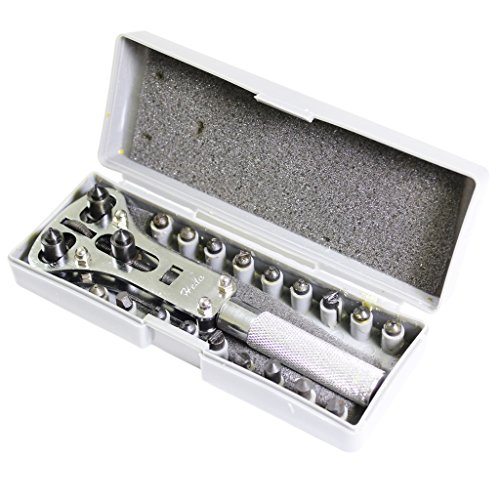 Premium Universal Screw Back Watch Case Open Opener Repair Tool Kit by Kurtzy TM