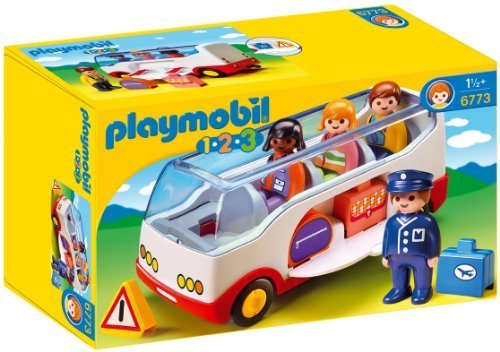 PLAYMOBIL 1.2.3 Airport Shuttle Bus by PLAYMOBIL