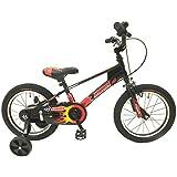ビスマーク(BISMARCK) 補助輪付き 組み立て式 子供用自転車 幼児自転車