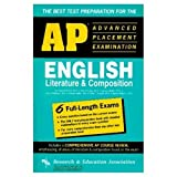 img - for AP English Literature & Composition (REA) - The Best Test Prep for the AP Exam (Advanced Placement (AP) Test Preparation) book / textbook / text book