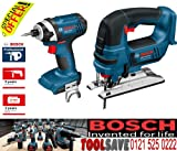 Bosch GDR GST Dynamic Series Impact Driver and Jigsaw 18V Li-Ion Cordless