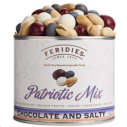 11oz Can Patriotic Mix (Yogurt Covered Dried Cherries compare prices)