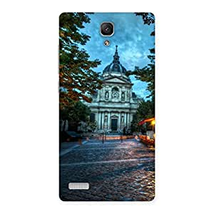 Delighted Fort Vintage Back Case Cover for Redmi Note