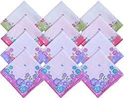 S4S Women's Handkerchief (Pack of 12)