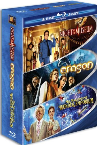 Kid Blu-ray 3-Pack (Night at the Museum / Eragon / Mr. Magorium's Wonder Emporium)