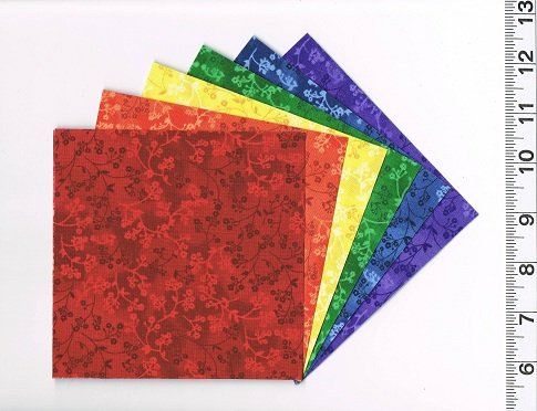 Quilting Fabric Charm Pack 24 5