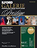 Ilford 2001739 GALERIE Prestige Smooth Gloss, 100 Sheet Pack (White)